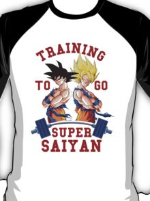 Training to go Super Saiyan 3 T-Shirt