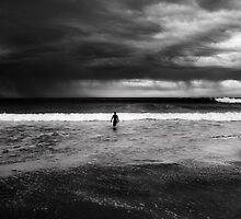 Storm Surfer  by James  Archibald