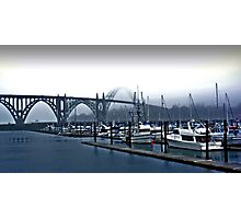 Yaquina Harbor Photographic Print