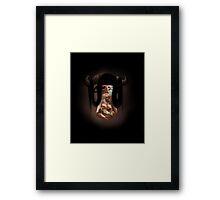 Vitiligo Minotaur Framed Print