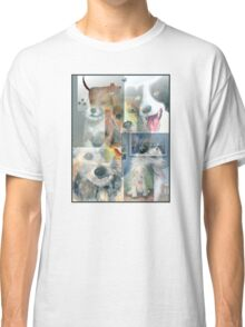 Dog Collage Classic T-Shirt