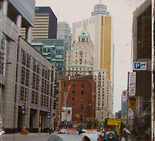 toronto downtown by Klaudy Krbata