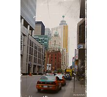 toronto downtown Photographic Print