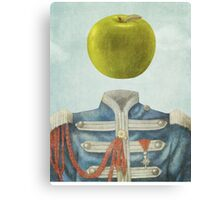 Sgt. Apple  Canvas Print