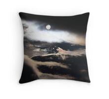 strange sun Throw Pillow