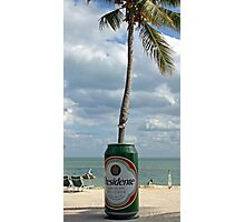 Presidente Beer in the Keys Photographic Print