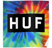 sup | Huf N Tie Dye Poster