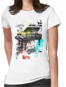 Art Womens Fitted T-Shirt