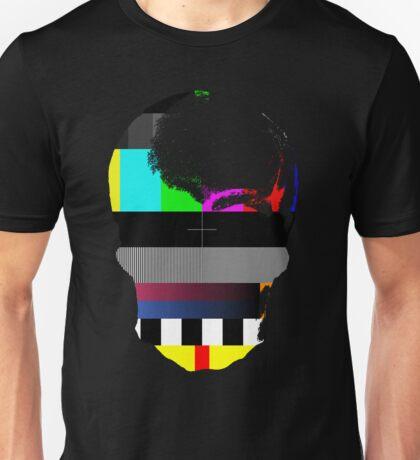 Skull TV Testing Unisex T-Shirt