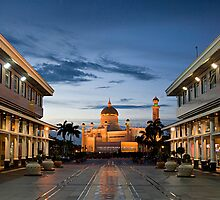 Town Square - Brunie  Darussalam, Bandar Seri Bagwan by Trishy