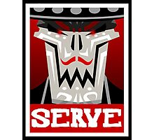 Guacamelee - Calaca Serve Poster (Obey Poster) Photographic Print