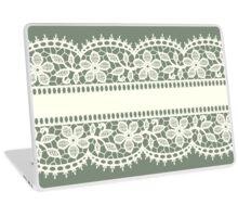 Lace, Seamless Pattern, Flowers. Laptop Skin