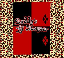 Daddy's Lil Monster - coloured by SquareDog