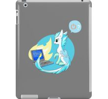 Have you tried turning it off and on? iPad Case/Skin