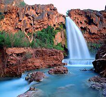 'Havasu Falls Dusk' by DLUhlinger