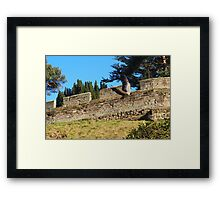 Warwick Castle, Warwick, United Kingdom Framed Print