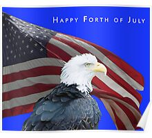 Happy Forth of July Poster