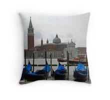 Mysterious Venice Throw Pillow