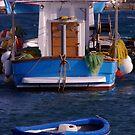 Blue Boat by Peter Bellamy