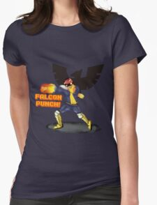 Nintendo - Falcon Punch! Womens Fitted T-Shirt