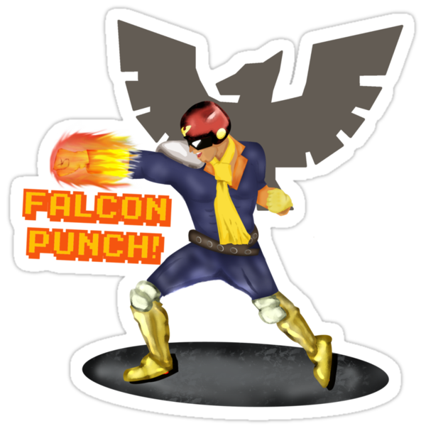 Nintendo - Falcon Punch! by lukeshirt