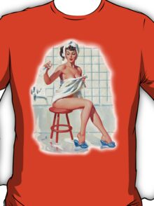 Bathing Pin-up T-Shirt