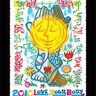 national organization for women's love your body 2010 poster contest by chung-deh tien