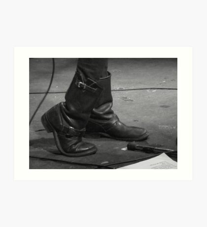 These boots were made for Music... Art Print