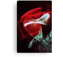 Light abstraction Canvas Print