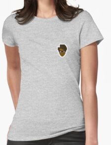 Retro Moss Womens Fitted T-Shirt