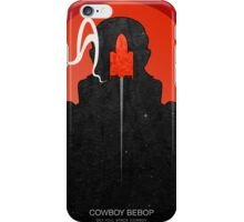 Cowboy bebop - Jet Black iPhone Case/Skin
