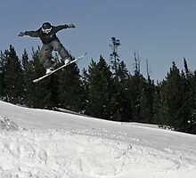 Snowboard Jump by Topps