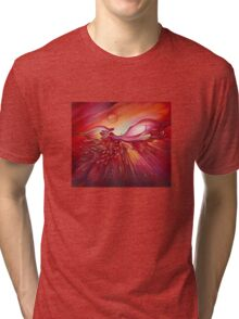 On the Angel's Wing Tri-blend T-Shirt