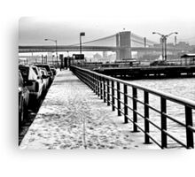 hudson. new york, usa Canvas Print