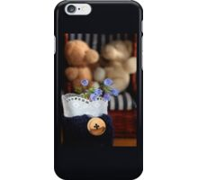 Bear's Blue Country Holidays iPhone Case/Skin