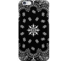 Black bandana iPhone Case/Skin
