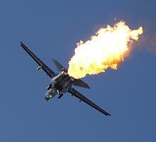 F-111 Dump and Burn by Daniel McIntosh