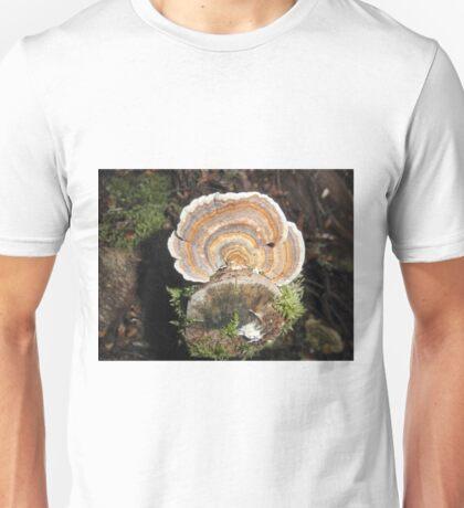 Fungi Fan, Cradle Mountain, Tasmania, Australia. Unisex T-Shirt