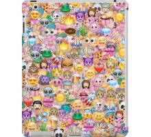 happy emoji pattern iPad Case/Skin