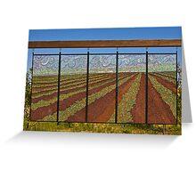 Strawberry Fields by K. Crocetti Greeting Card
