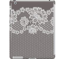 Lace ribbon. iPad Case/Skin