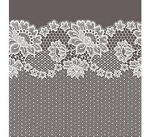 Lace ribbon. Photographic Print