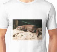 Water Otter, Canberra Zoo, Australia. Unisex T-Shirt
