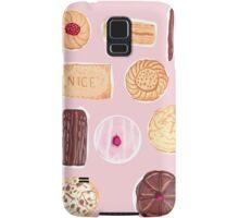 English Biscuits Samsung Galaxy Case/Skin