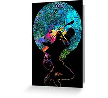 Coldplay Mylo Xyloto Top Greeting Card