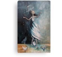 Love rains down on me Canvas Print