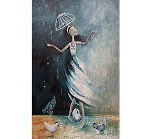 Love rains down on me Photographic Print