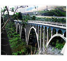 Bridge Off HWY 101 Poster