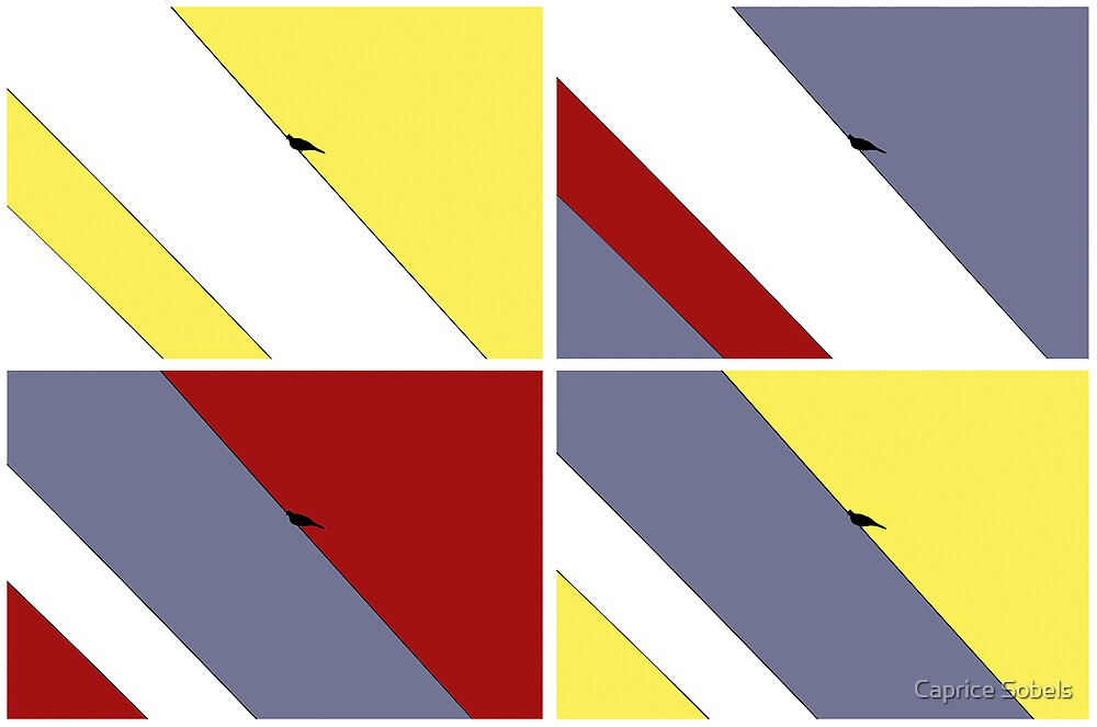 The Birds of Lichtenstein by Caprice Sobels