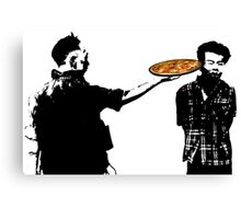 Pizza for one? Canvas Print